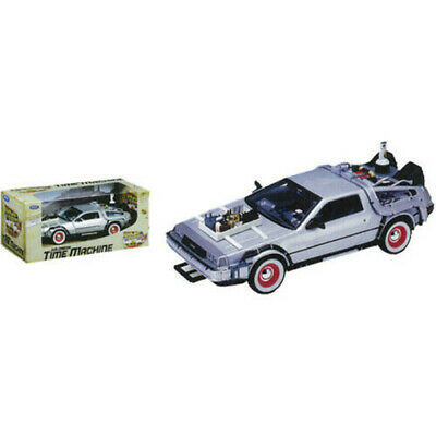 Stylized Excellent Quality BTTF Part III 1:24 Scale Die-Cast DeLorean Replica
