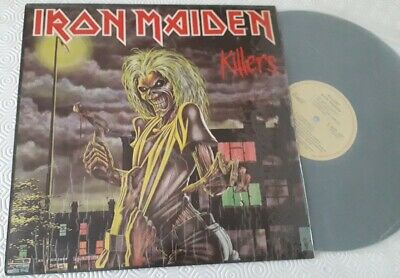 Iron Maiden ‎– killers  india