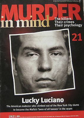 Murder in Mind Issue 21 - Lucky Luciano