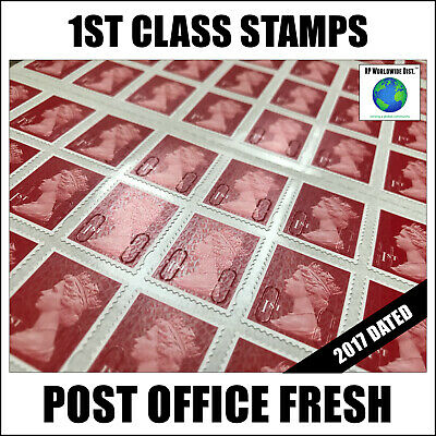 1000 x 1st Class Postage Stamps GREAT PRICE Self-Adhesive Stamp FAST POST First