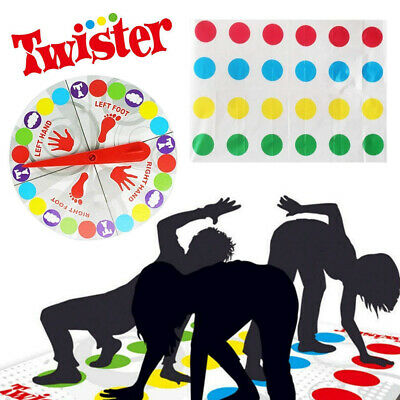 2019 Funny Twister The Classic Game Body Game W/ 2 More Moves Family Party Games