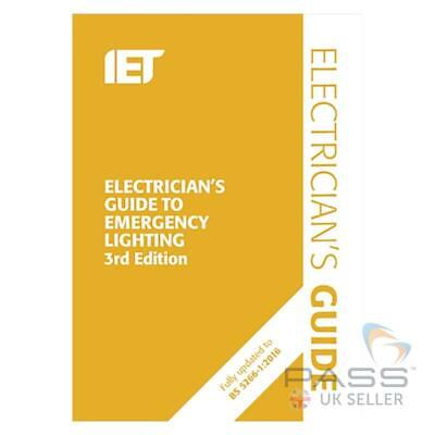 IET Electrician's Guide to Emergency Lighting 3rd Edition - New for 2019