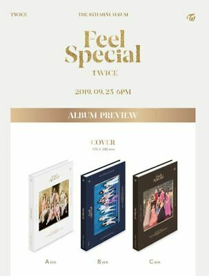 TWICE <FEEL SPECIAL> Album B Ver. Full Package+Folded Poster+PreOrder Photo