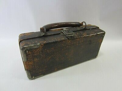 Antique Surgeons General Operating Set in Leather Case- Not Complete  M#283