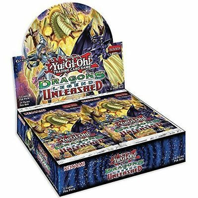 Yugioh  Dragons Of Legend Unleashed Yu-Gi-Oh 1St Edition Sealed Box New