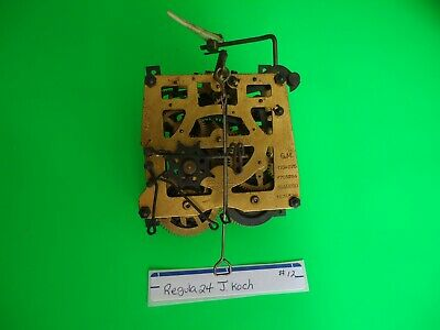 Vintage Cuckoo Clock Regula 24 Movement with bird for parts or repair #12