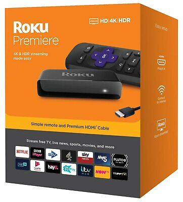 Roku Premiere HD / 4K / HDR Streaming Media Player
