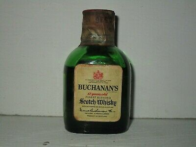 miniature mignon whisky BUCHANAN'S