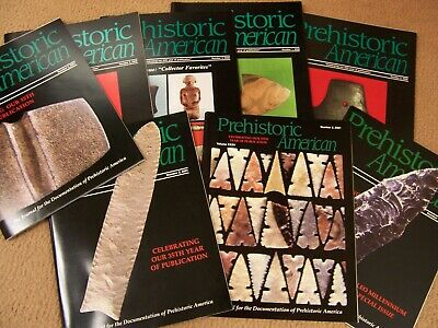 "8 Copies Of The Journal ""Prehistoric American"", 2 Complete Years 2000 And 2001"