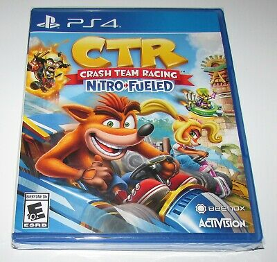 Crash Team Racing Nitro Fueled for Playstation 4 Brand New!