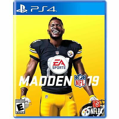 Madden Nfl 19   (Ps4,  2018)  (6977)  Ships Next Business Day**Free Shipping Usa