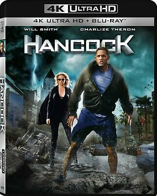 BLU-RAY Hancock (4K Ultra HD/Blu-Ray) NEW Will Smith