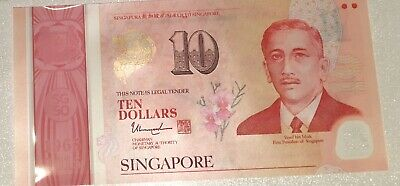 2 X Singapore Uncircluated $10