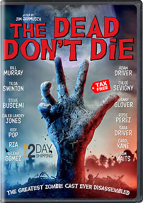 The Dead Don't Die DVD NEW