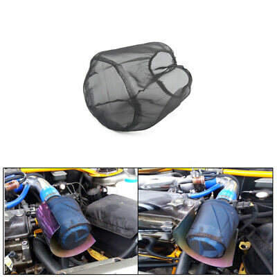 Water Guard Cold Air Intake Pre-Filter Cone Filter Cover for Charger Large Black