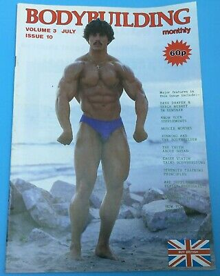 BODYBUILDING MONTHLY - July 1980 - Rory Leidelmeyer front & back  cover