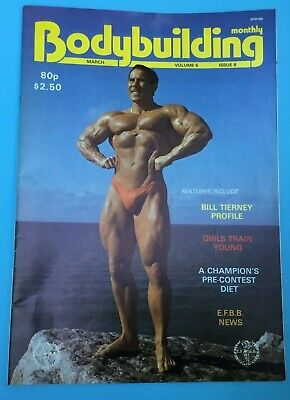 BODYBUILDING MONTHLY - March 1983 - Bill Tierney front cover
