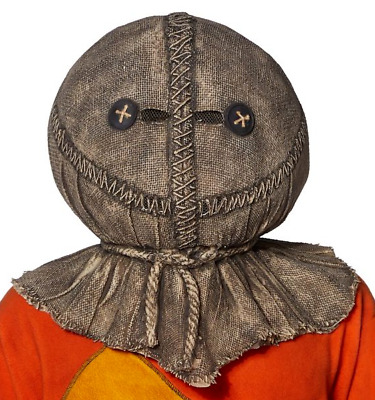 SAM Trick 'r Treat Deluxe Halloween Costume Horror Movie MASK NEW