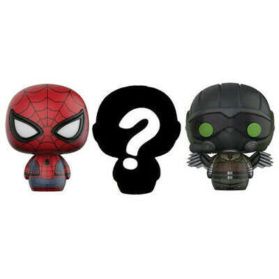 Spider-Man Homecoming Vulture & Mystery Pint Size Heroes 3Pk FREE Global Shippin