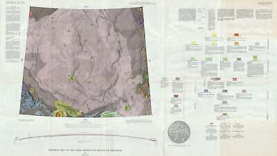 1966 USGS Geologic Map of the Moon: Mare Serenitatis Region