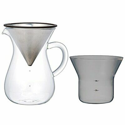 Kinto 1.1 Liter Carafe Coffee Set with Strainer No Need for P 80151 fromJAPAN