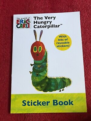 The Very Hungry Caterpillar Sticker Colouring Activity Book Childminder Nursery