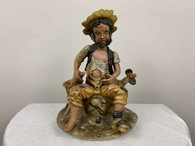 Antique Porcelain Bisque Hobo Figurine