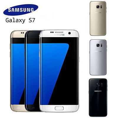 New Sealed Box Samsung Galaxy S7 Edge G935F LTE 32GB 4G Mobile UK HOT SALE