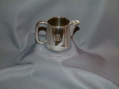 MacAndrews Line Silver Plated Cream Jug by Alexander Clark Co
