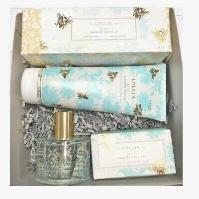 Lollia Wish 4 Piece Anytime Collection with Sugared Pastille Vanilla Bean