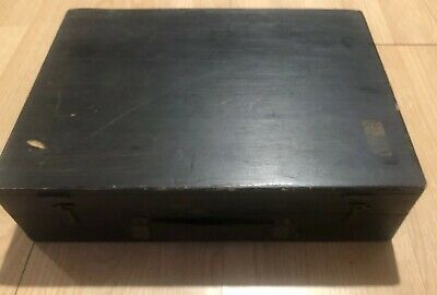 Vintage Wooden DEVOE AND RAYNOLDS CO. INC Artists Materials Box + Supplies
