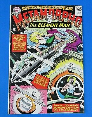 Metamorpho #2 ~ 1965 Dc Silver Age Comic Book ~ Fn