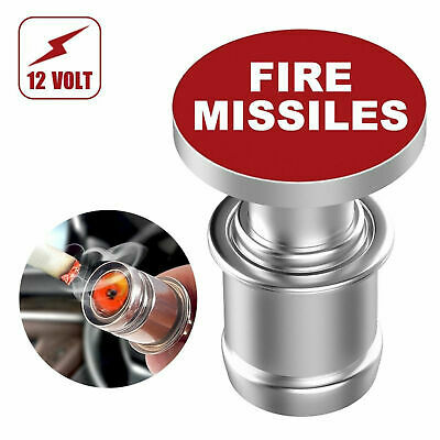 Car Cigarette Lighter Eject Button Replacement 12V Auto Accessory Push Button