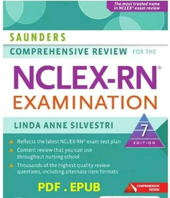 Saunders Comprehensive Review for the NCLEX-RN 7th edition 🔥 Fast delivery 🔥