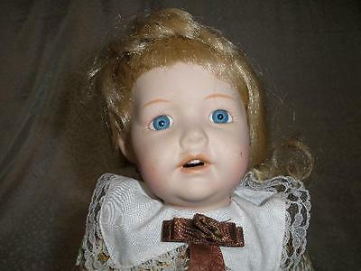 Glamorous Collectable  Bisque Porcelain Doll No.1.