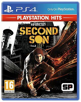 inFAMOUS Second Son Sony Playstation PS4 Hits Game 16+ Years