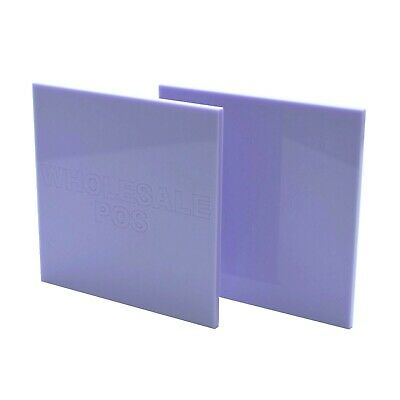 3mm Thick Acrylic Violet 7535 Coloured Perspex Sheet Custom Cut to Size Panels