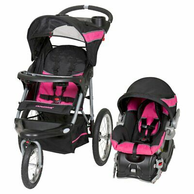 Expedition Jogger Travel System Stroller w/ Car Seat for Children Up to 50 lbs