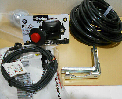 Parker Chelsea 328388-98X Power Take Off Cab Control Installation Kit