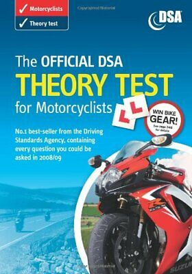 (Very Good)-The Official DSA Theory Test for Motorcyclists 2008/09 Edition: Vali