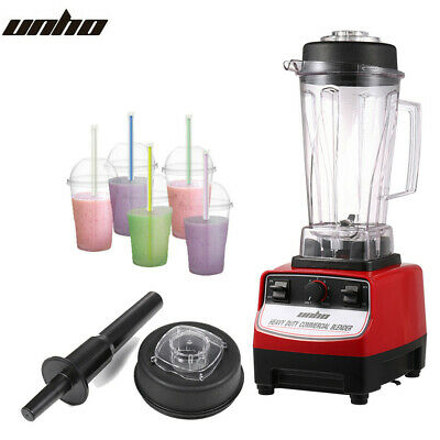 UNHO 1500W High Speed Professional Food Blender Powerful Large Smoothie Maker