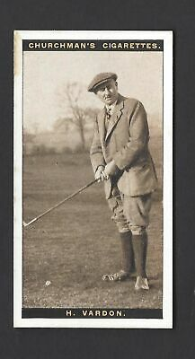 Churchman - Famous Golfers - #44 Harry Vardon