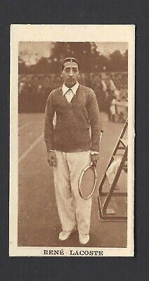 Phillips - Sporting Champions - #8 Rene Lacoste, Tennis