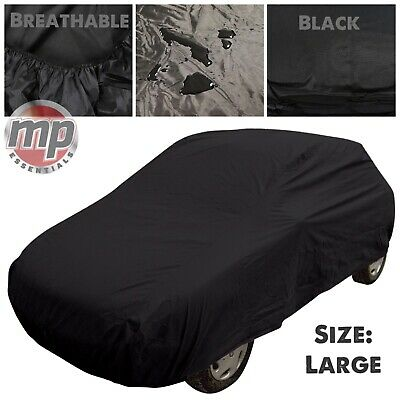 Black Indoor & Outdoor UV Rain Frost Breathable Full Car Cover for Ford Focus ST