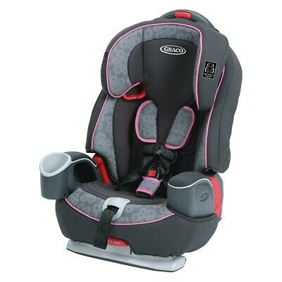 Graco Nautilus 65 3-In-1 Harness Booster Car Seat, Sylvia Pink/Gray *Distressed