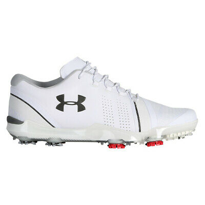 NEW Mens Under Armour Spieth 3 UA Golf Shoes White - Choose Your Size