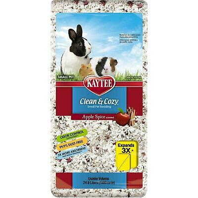 Kaytee Clean and Cozy Apple Spice Scented Super Absorbent Paper Bedding 24.6L