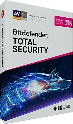 ⭐️⭐️ BITDEFENDER 2019 Total Security Garantie 3 mois ! ⭐️⭐️ ANTI VIRUS