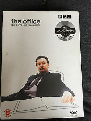The Office Season 1 DVD Original British Comedy Series with Ricky Gervais