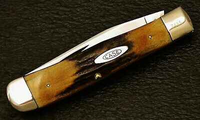 Vintage 2Dot 1978 Case Xx Thick Stag Trapper Knife 5154 Ssp Mint